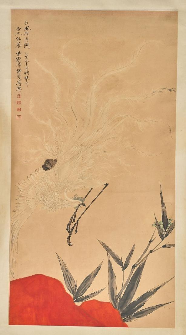 Two Chinese Scrolls: After Zhang Daqian