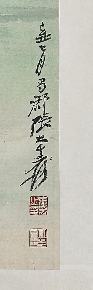 Two Chinese Scrolls: After Zhang Daqian - 4