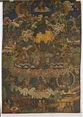 Two Sino-Tibetan Thangkas