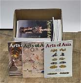 Large & Complete Collection of Arts of Asia Volumes