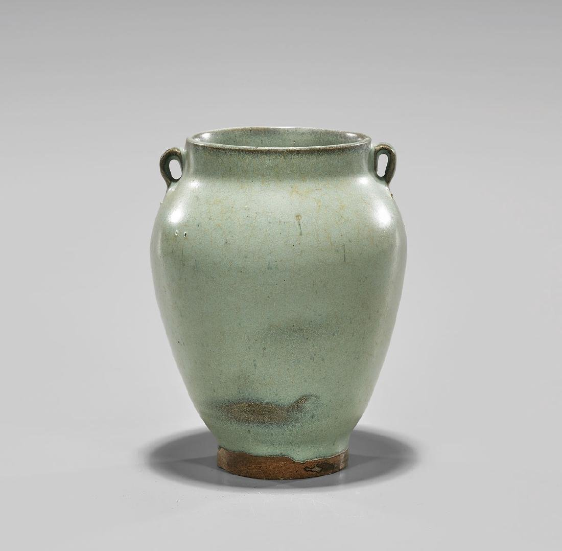 Antique Chinese Junyao Glazed Jar