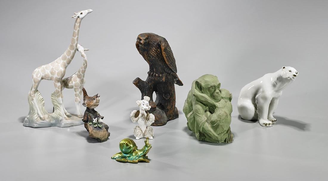 Group of Various Ceramic Animals