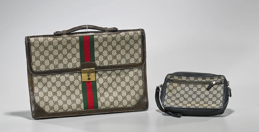 Group of Two Vintage Gucci Cases