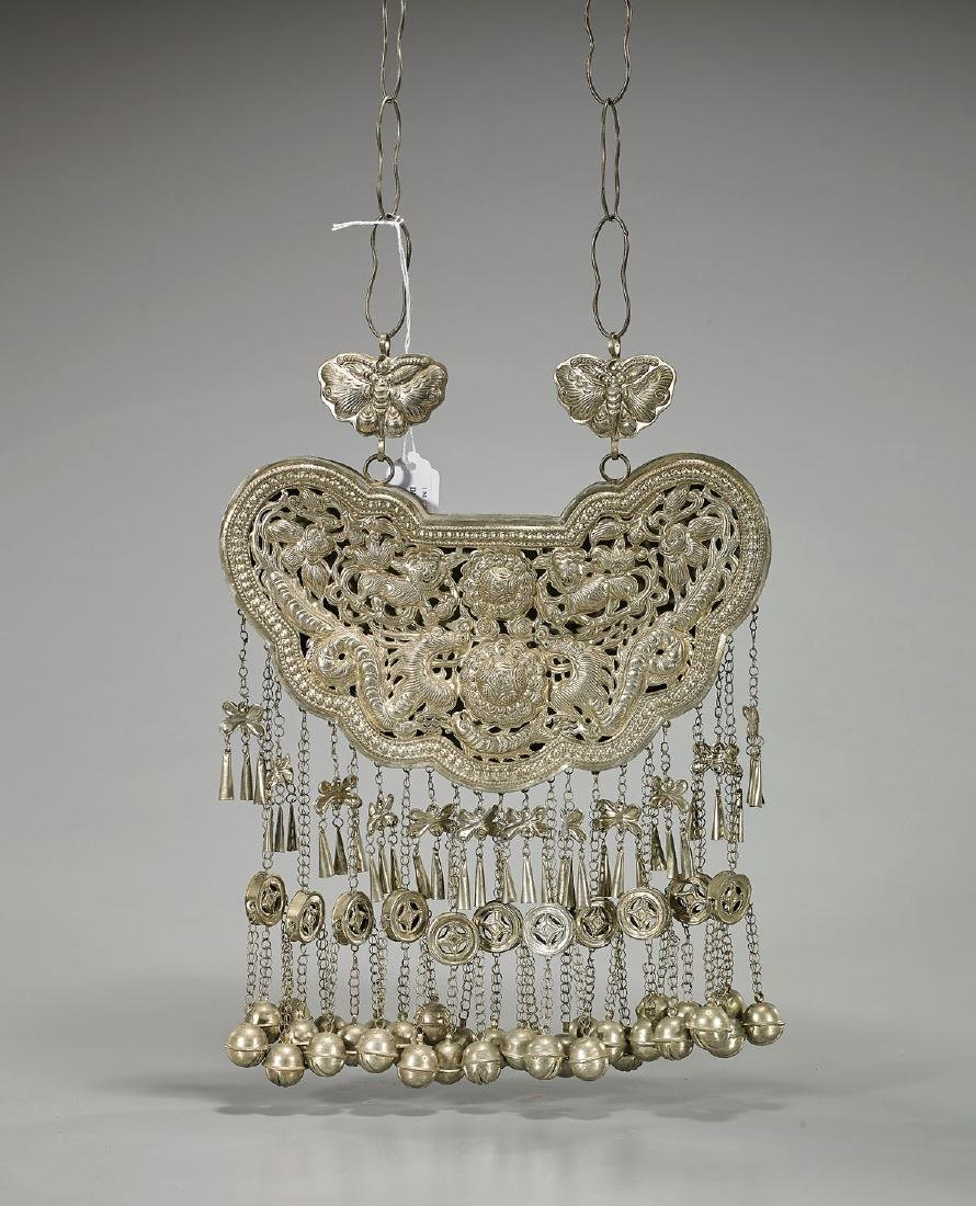 Elaborate Chinese Metalwork Necklace