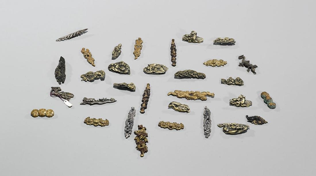 Collection of Various Japanese Menuki