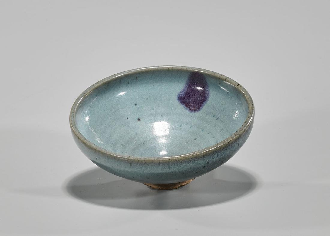 Song Dynasty Junyao Purple Splash Bowl