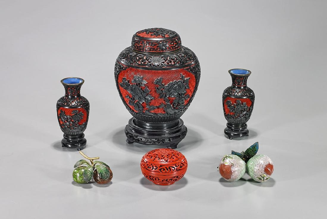 Group of Six Various Chinese Items