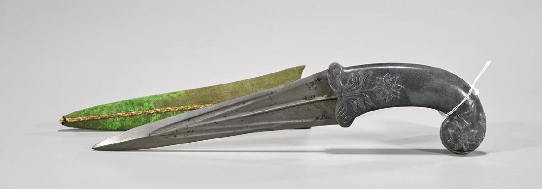 Mughal-Style Hardstone Dagger