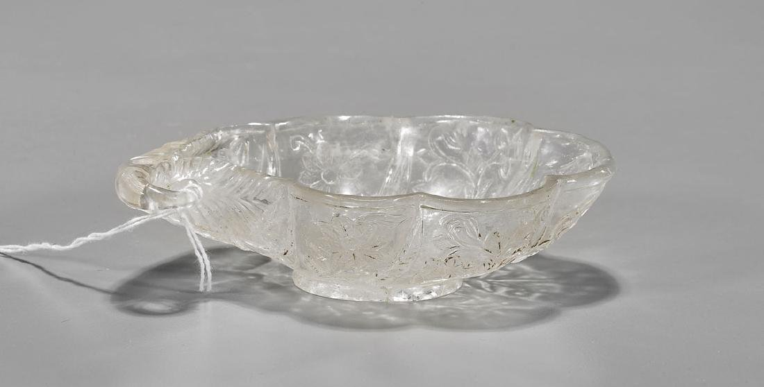 Mughal-Style Carved Rock Crystal Coupe