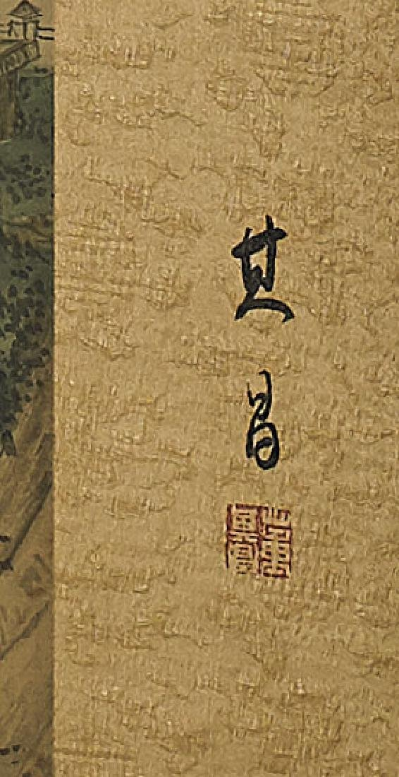 Group of Three Chinese Scrolls: Landscapes - 7