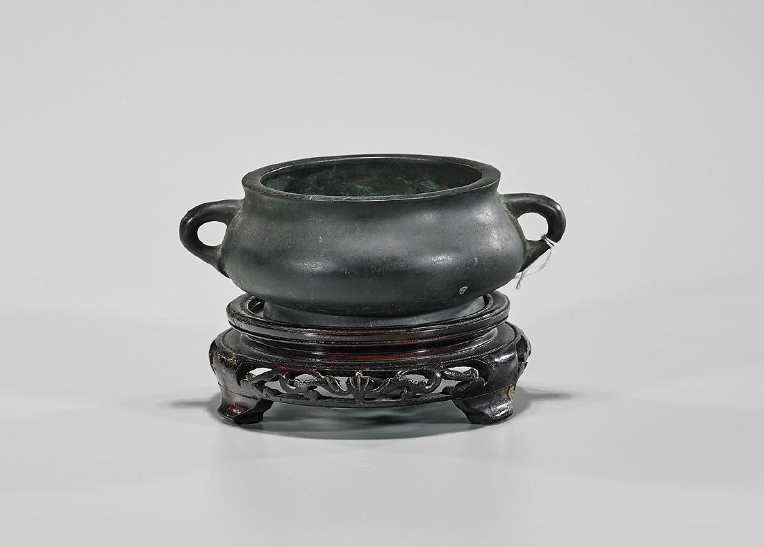 Ming-Style Bronze Censer