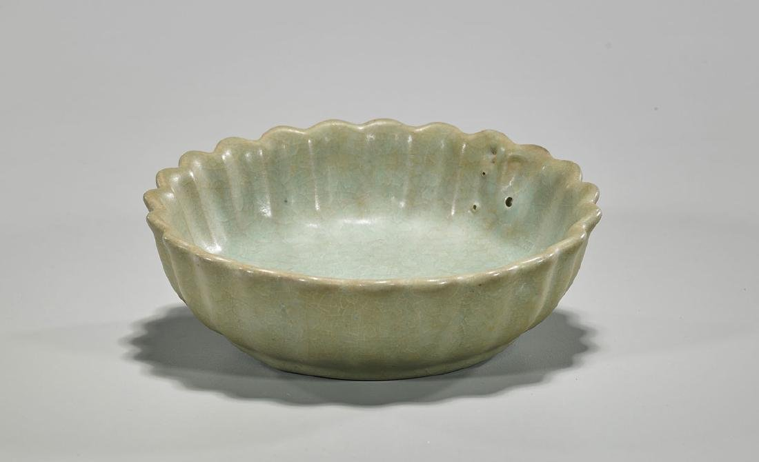 Chinese Song Dynasty Celadon Glazed Ceramic Basin