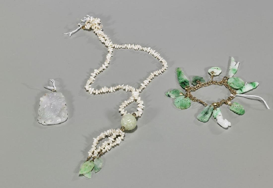 Group of Three Jewelry Pieces