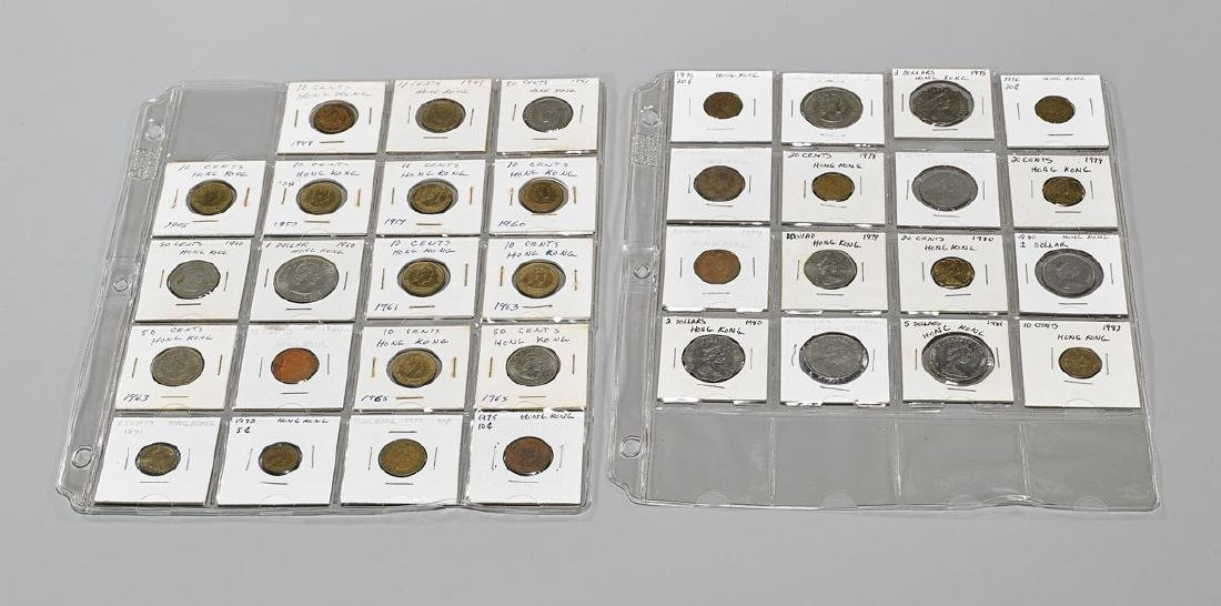 Collection of Hong Kong Coins