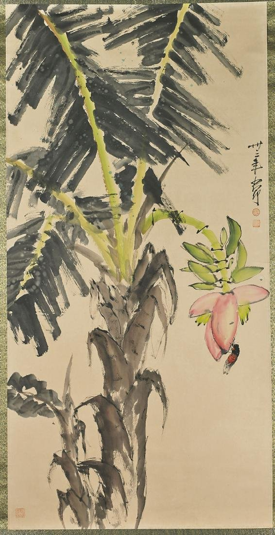Two Chinese Scrolls After Yan Bolong & Zhao Shaoang - 3