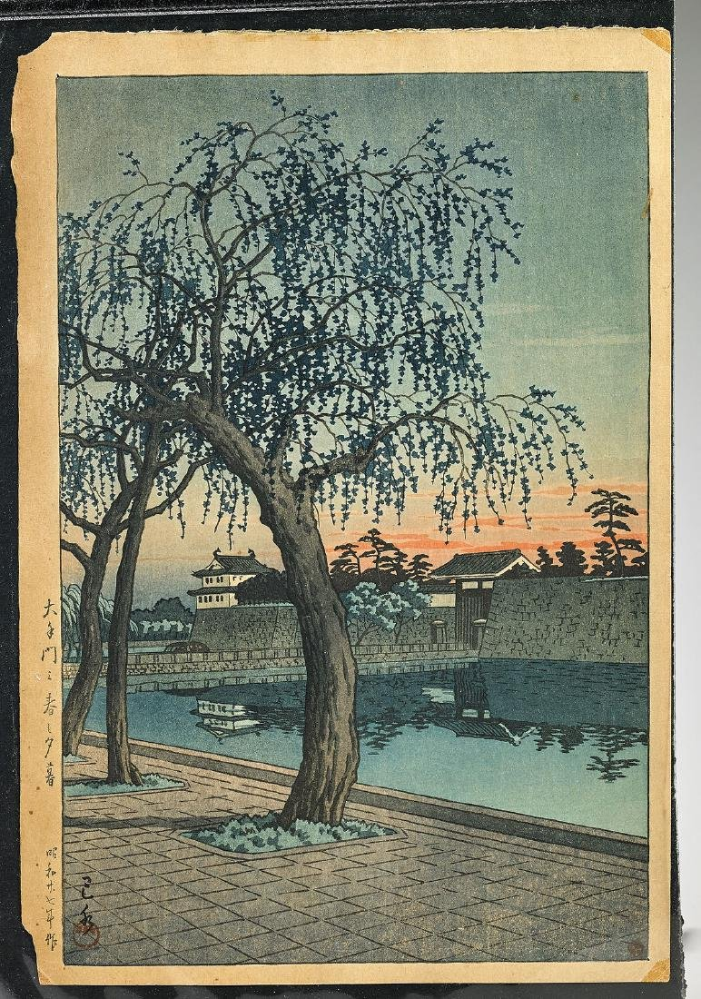Two Japanese Woodblock Prints - 2