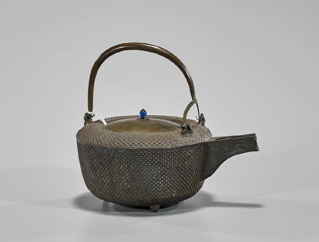 Japanese Iron Covered Teapot
