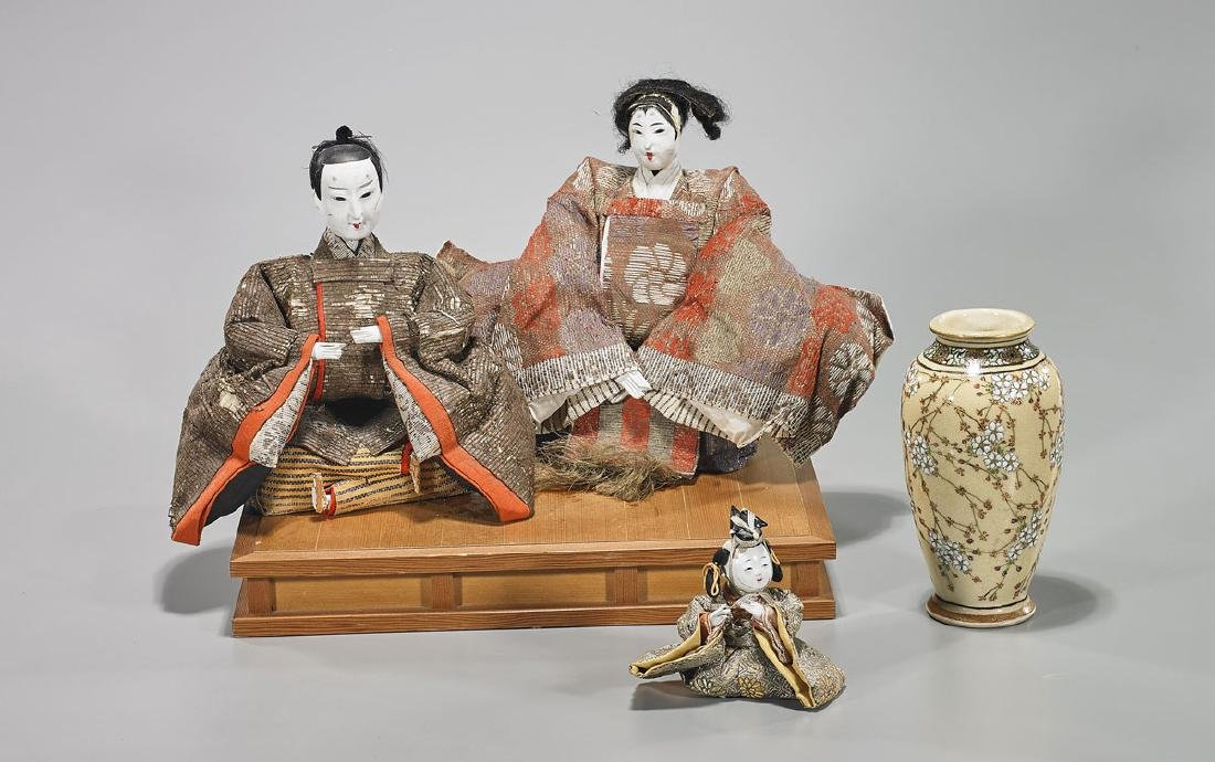 Group of Five Japanese Pieces