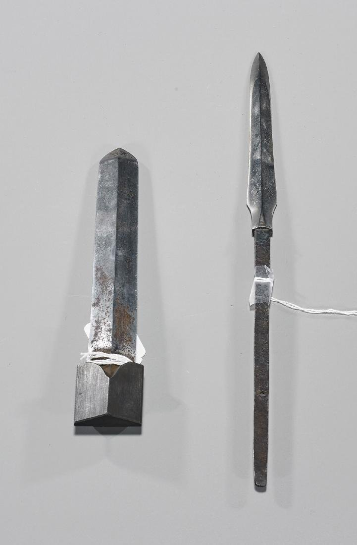 Two Antique Japanese Tanto