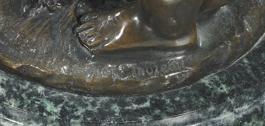 Bronze Group After Auguste Moreau: Deux Enfants - 2