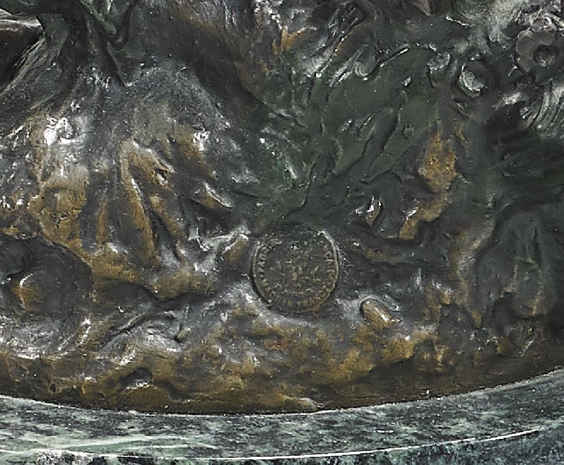Bronze Group After Auguste Moreau: Deux Enfants - 3