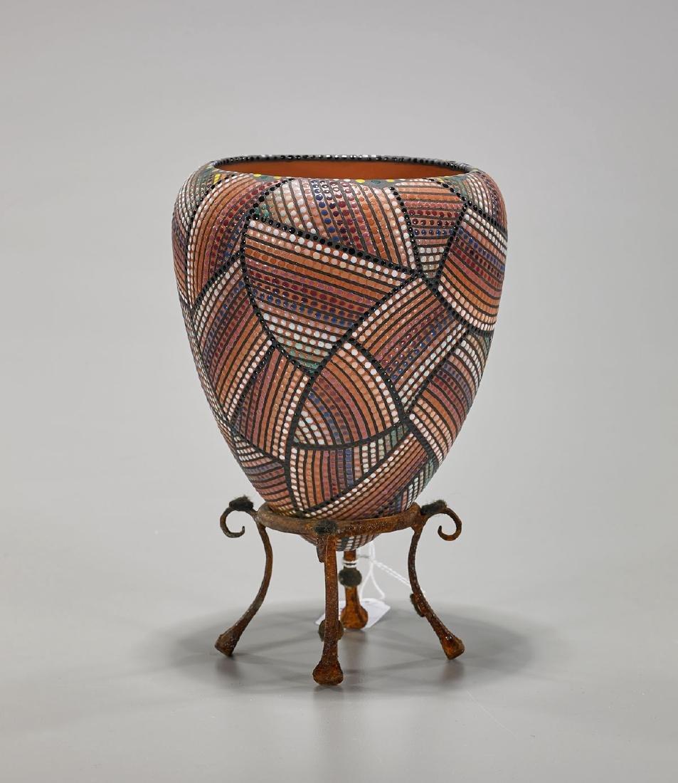 Ceramic Vase By Ricky Maldonado
