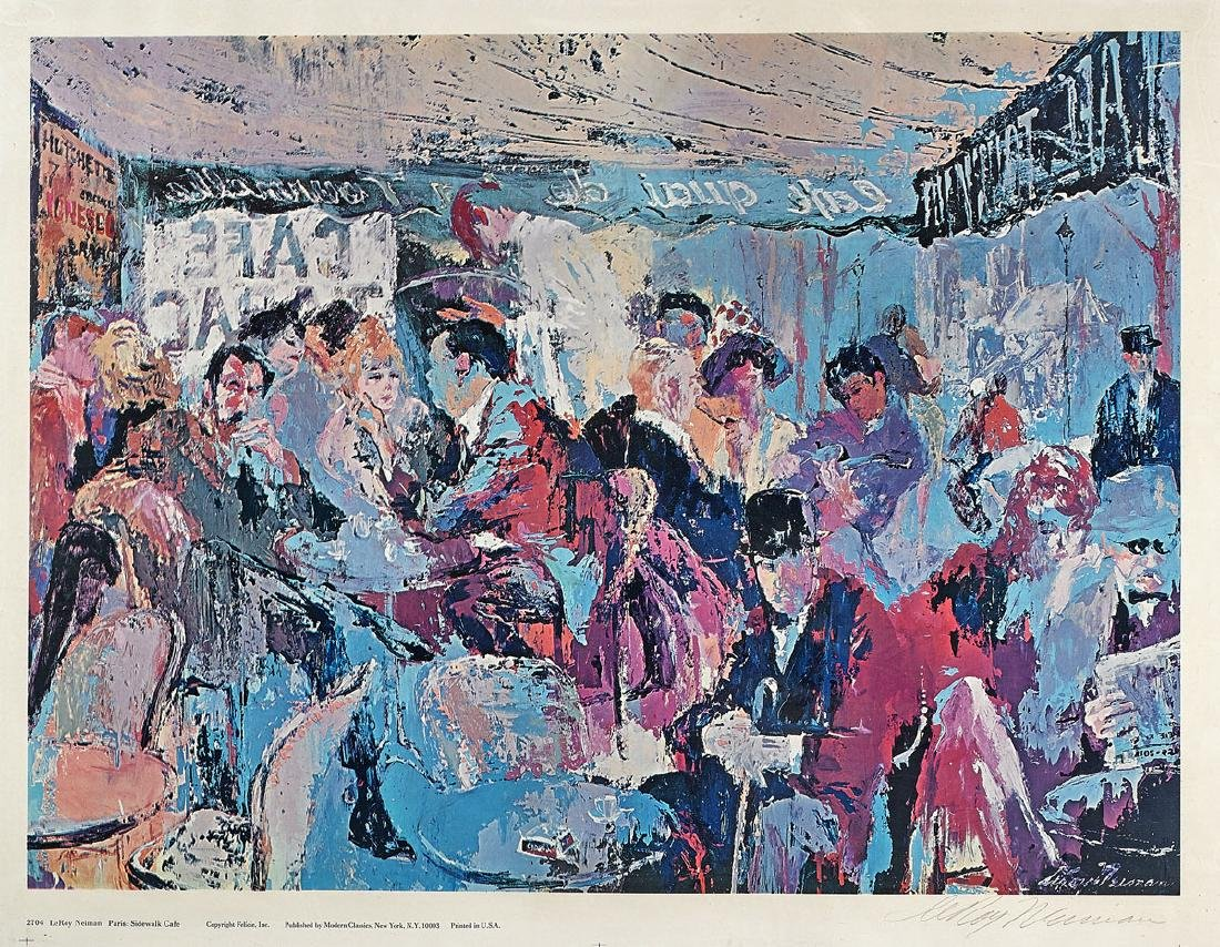 Two Offset Lithographs After Leroy Neiman
