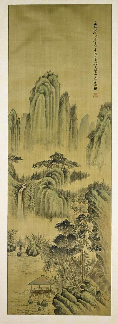 Chinese Painting on Silk After Wen Zengming