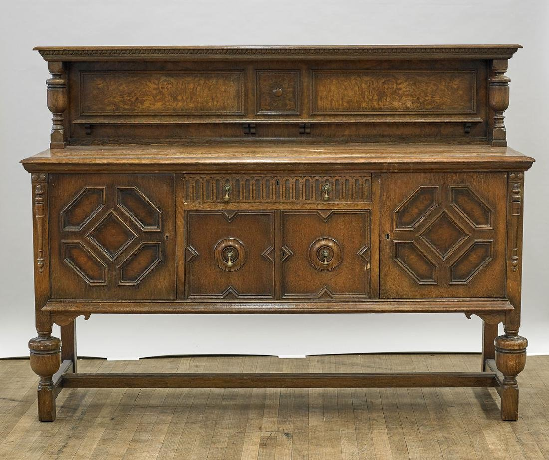 Large Old Continental Sideboard