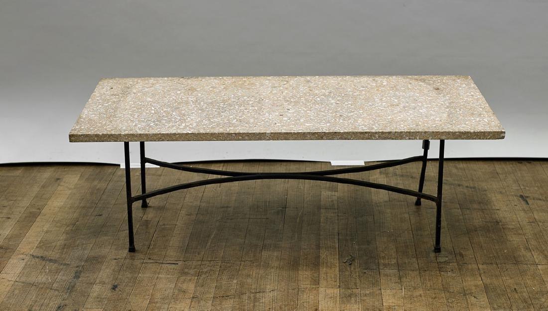 Stone & Metal Table