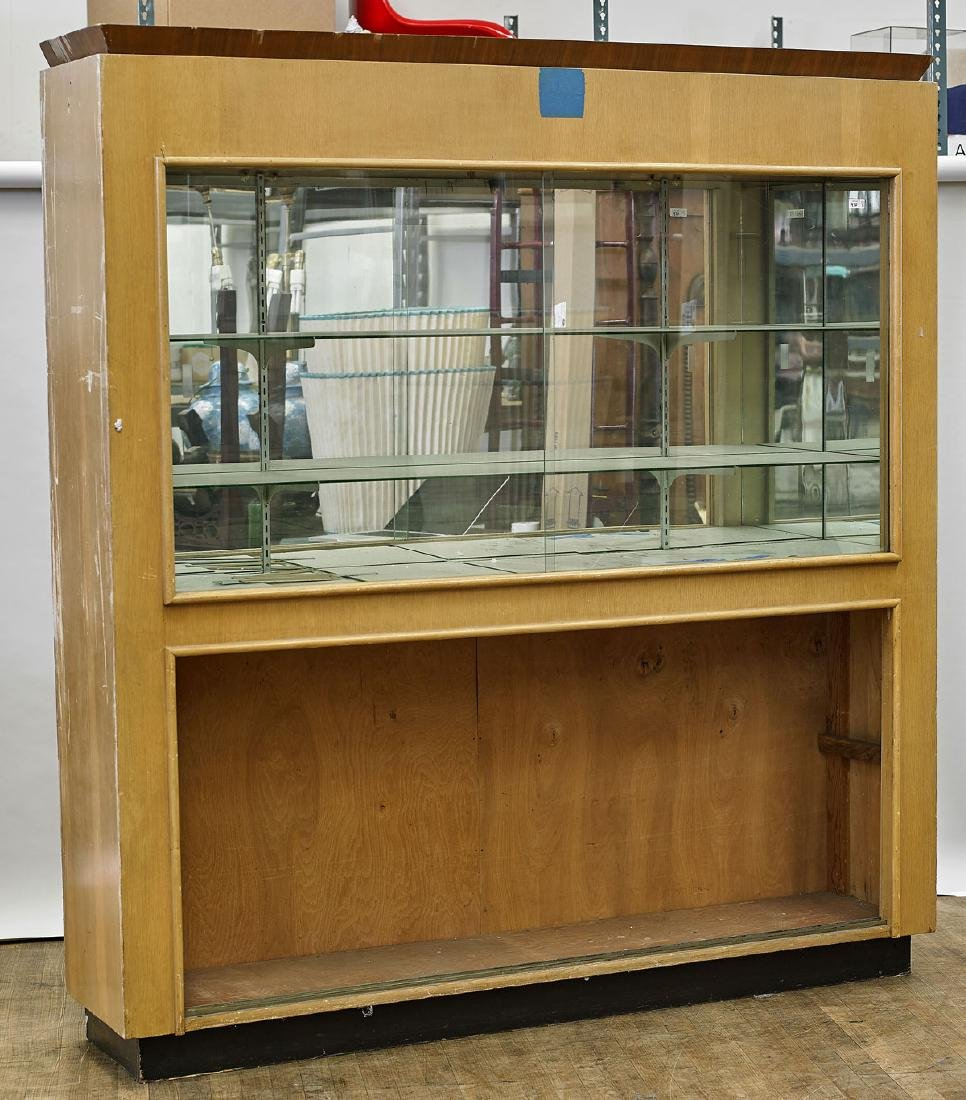 Large Wood Display Cabinet