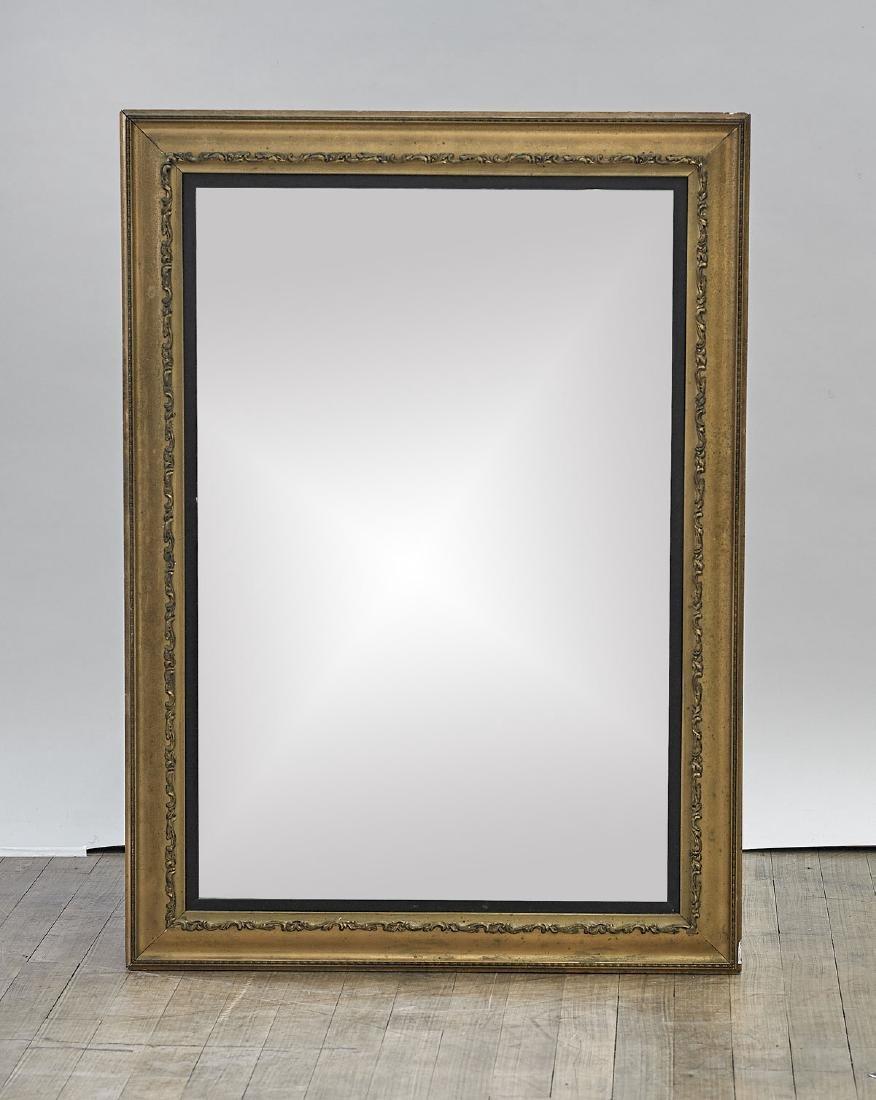 Old Gilt Wood Mirror