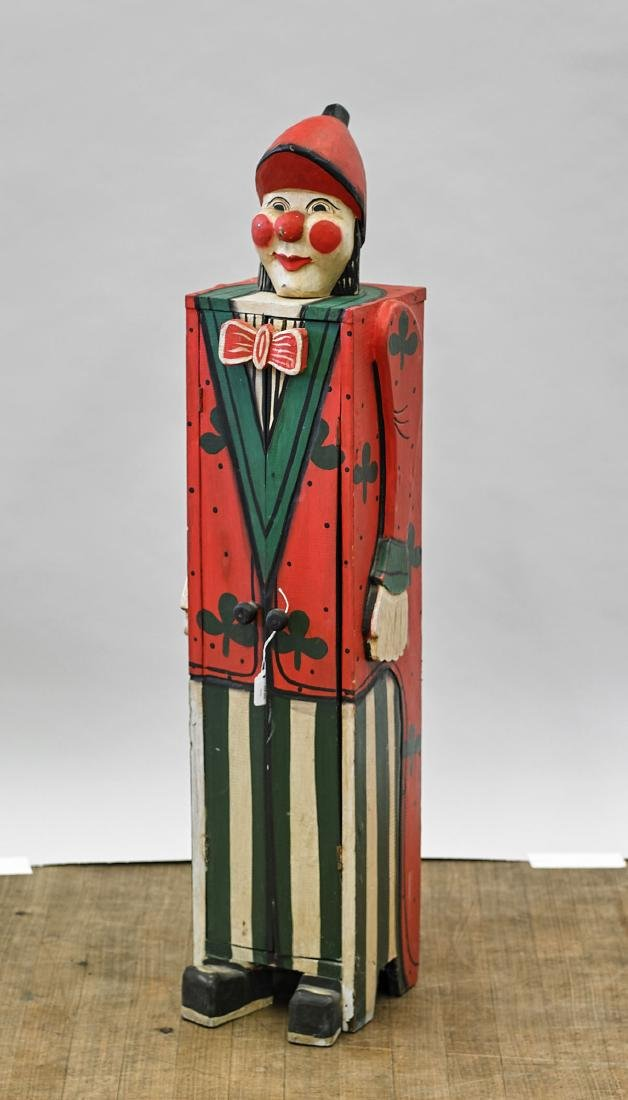 Painted Wood 'Clown' Cabinet