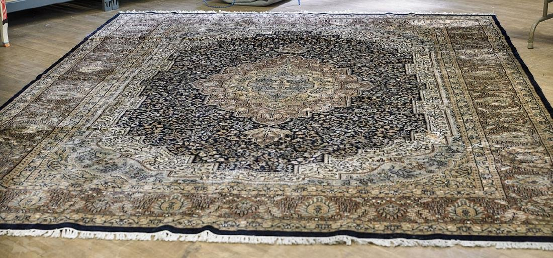 Large Persian-Style Wool Rug
