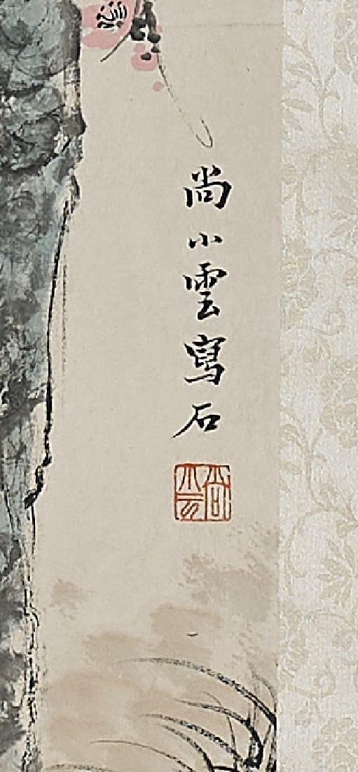 Two Chinese Scrolls After Mei Lanfang & Wu Hufan - 4