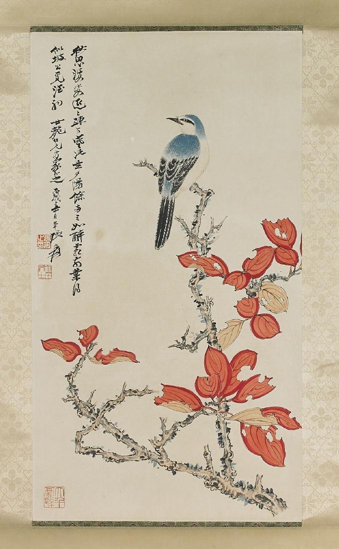 Two Chinese Scrolls After Zhang Daqian & Xie Zhiliu
