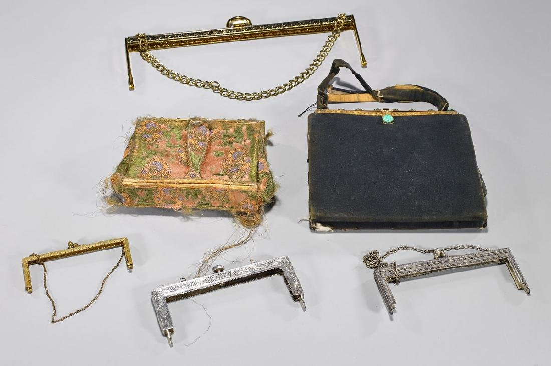Collection of Six Various Purses & Purse Frames