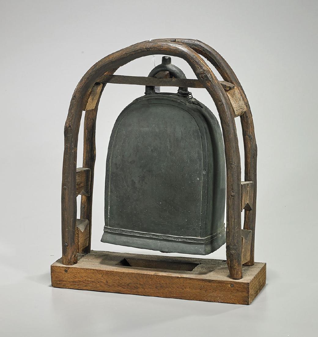 Antique Southeast Asian Bronze Bell
