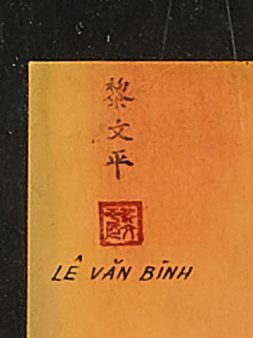 Vietnamese Lacquer Panel - 2