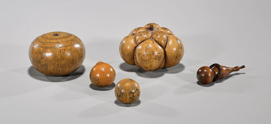 Group of Five Chinese Pieces