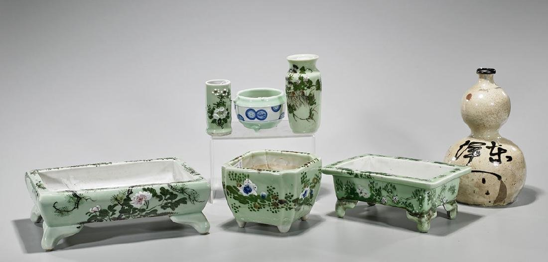 Group of Old & Antique Chinese & Japanese Ceramics