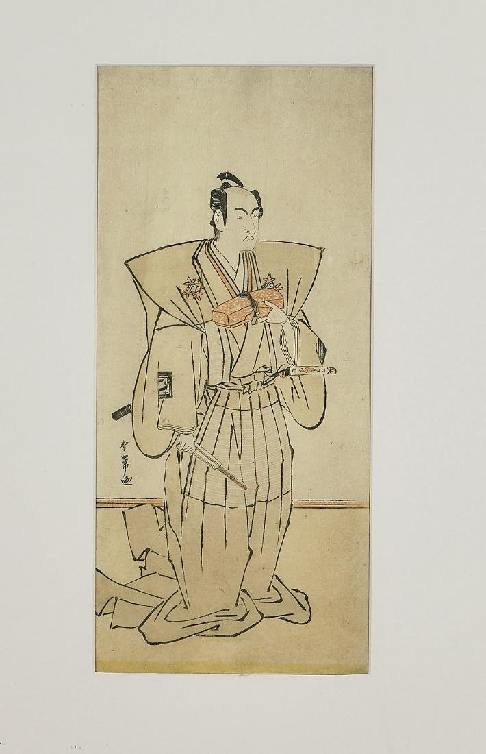 Group of Six Antique Japanese Woodblock Prints