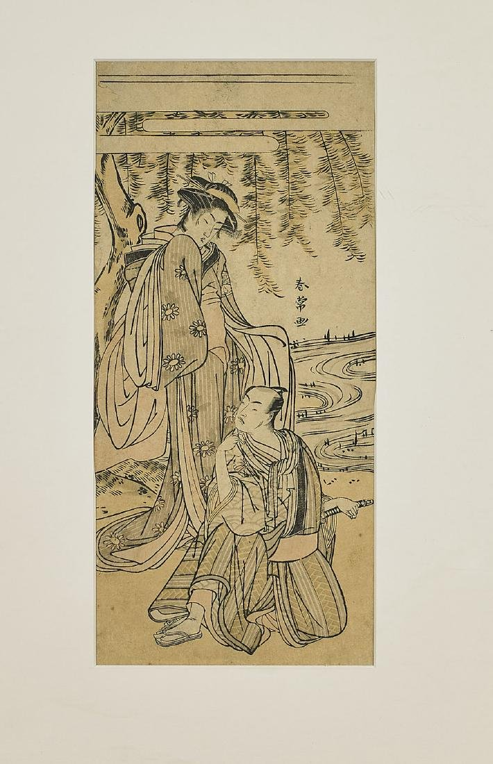 Group of Six Antique Japanese Woodblock Prints - 5