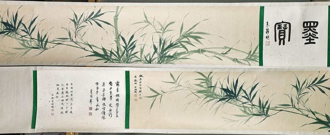 Two Chinese Paper Scrolls