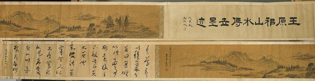 Group of Three Chinese Handscrolls