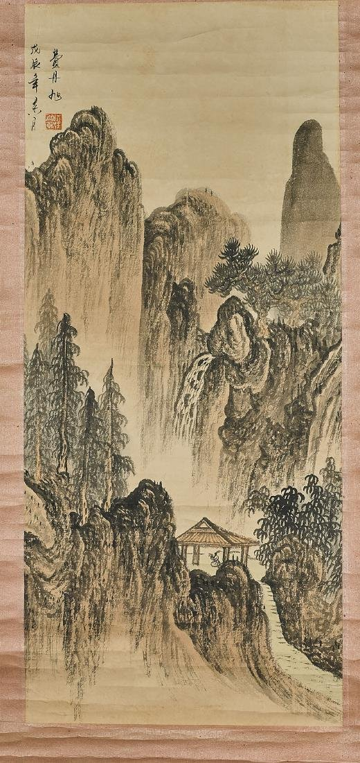 Three Chinese Landscape Scrolls
