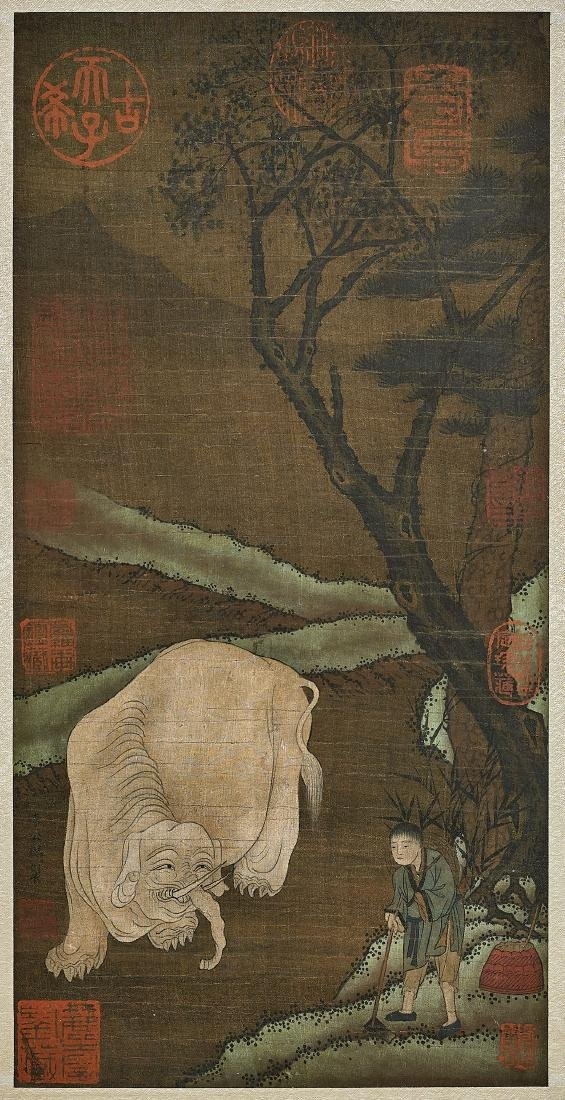 SONG-STYLE PAINTING ON SILK