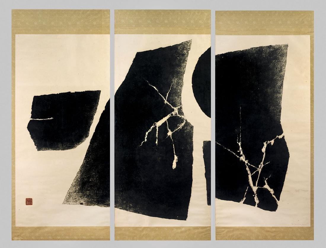 SET OF WOODBLOCK PRINTS BY CHEN TING-SHIH