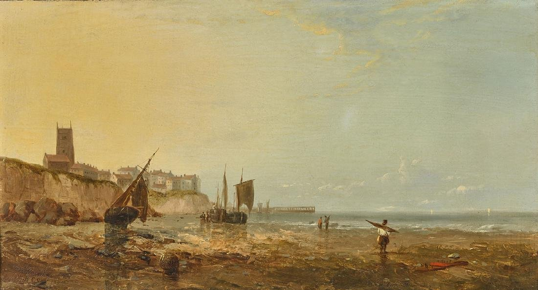 OIL PAINTING BY W.H. DOUST