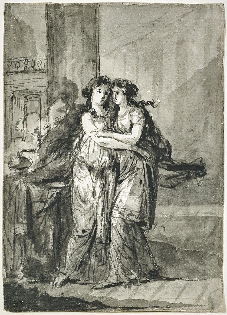 DRAWING ATTRIBUTED TO HEINRICH FRIEDRICH FUGER